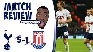 Tottenham Hotspur vs Stoke City 5-1 MATCH REVIEW | SPURS GIVE STROKE CITY CHAMPAGNE FOOTBALL