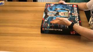 Unboxing the new Lego Mindstorms EV3