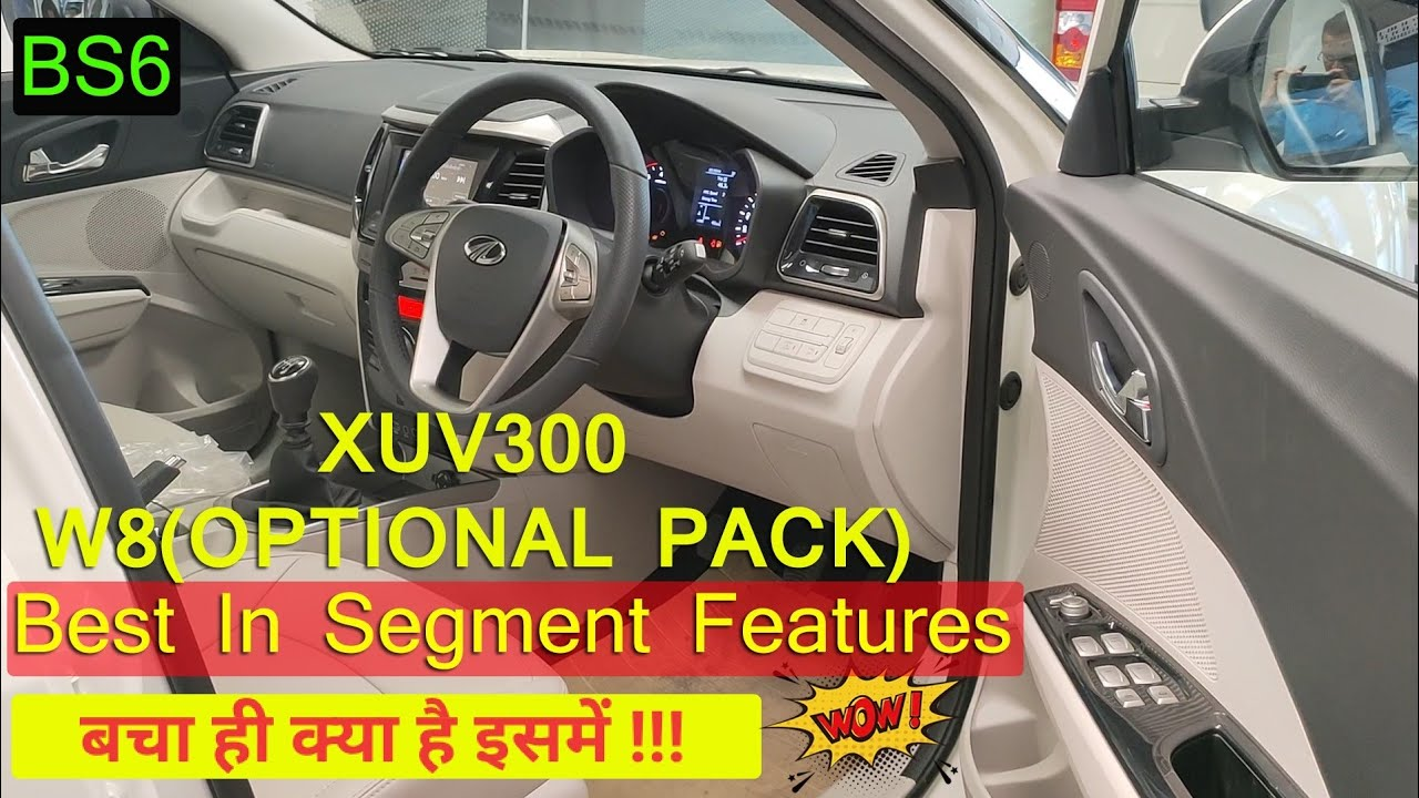 2020 MAHINDRA XUV300 W8 OPTIONAL PACK BS6 ! WoW Features in it ! DETAILED REVIEW