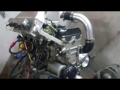Suzuki Hayabusa Turbo engine start