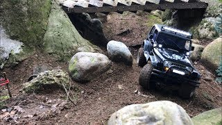 MST CMX Wrangler YJ at the Trial Attack Temple