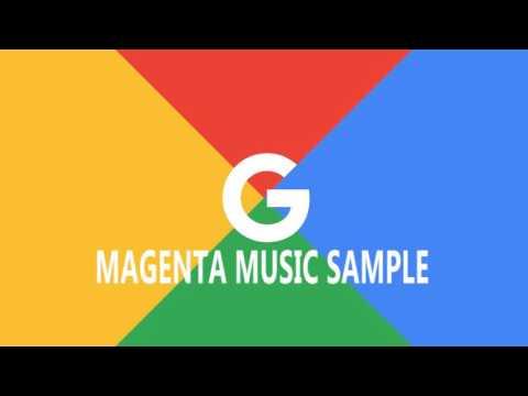 Esta melodía es la primera compuesta por un ordenador del proyecto Magenta de Google