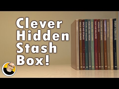 Clever Hidden Stash Box!