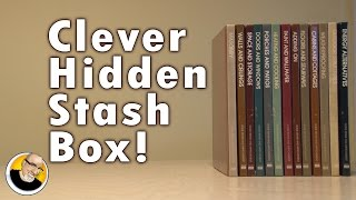 What do you do with old books? Make a hidden stash box! Support this video and get your FREE download at http://audible.com/