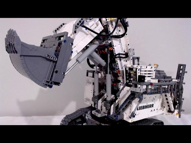 Das erste von drei Reviews zu dem Lego Liebherr Excavator