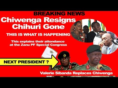 ZIM BREAKING LATEST NEWS TODAY, Chiwenga Resigns, Chihuri Gone, THE INSIDE STORY