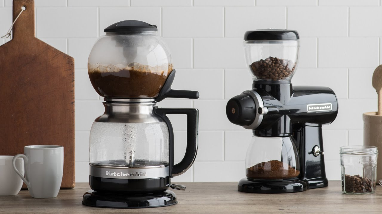 Kitchenaid Siphon Coffee Brewer The Story Youtube