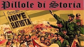 223 - La rivoluzione cubana [Pillole di Storia con BoPItalia]