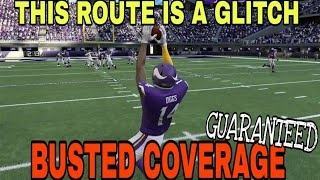 THIS ROUTE IS A CHEAT CODE! Explosive Pass Play That Completely GLITCHES OUT THE DEFENSE! Madden 20