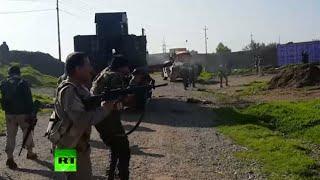 RAW Battle: Kurdish Peshmerga fighting against ISIS in Iraq