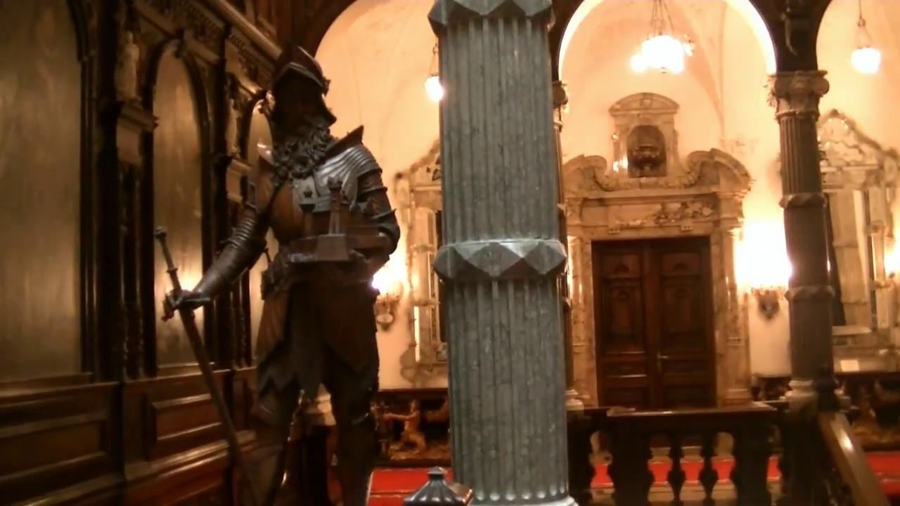 Румыния  Королевские дворцы Пелеш Palaces of the Romanian kings