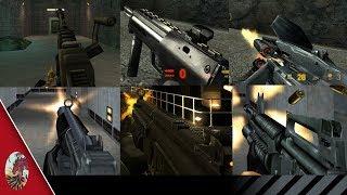 Half-Life SMGs & Assault Rifles Comparison