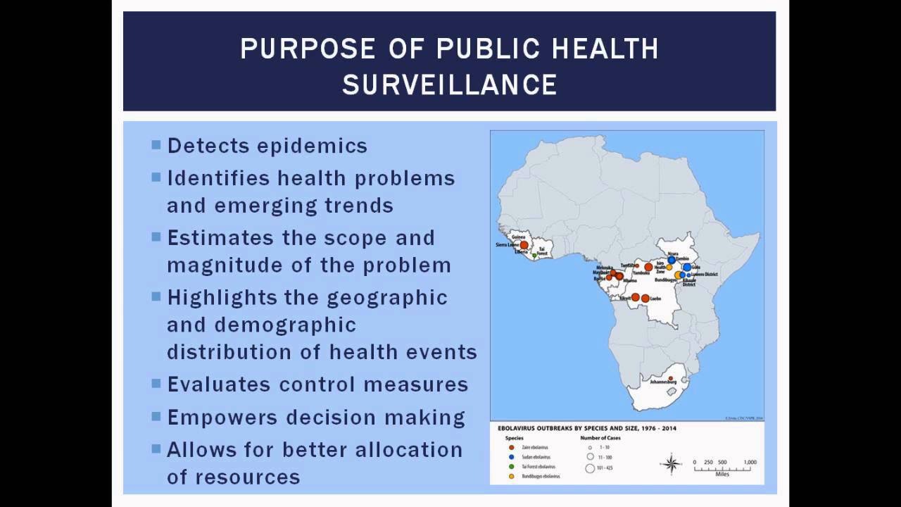 Epidemiology and surveillance