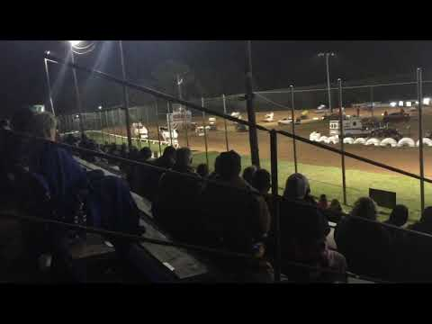 Sean McClelland Crash I-30 Speedway