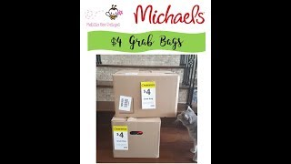 HUGE $4 Michael's Grab Bags $800 worth for $8 = 169 items