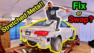 I Bought a Damaged BMW M3 From a SALVAGE AUCTION And It was WAY WORSE THAN I THOUGHT! (Part 2)