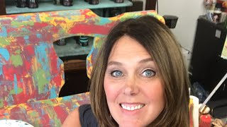 Live intuitive furniture Painting (Part 1) with Diy Paint boho, art