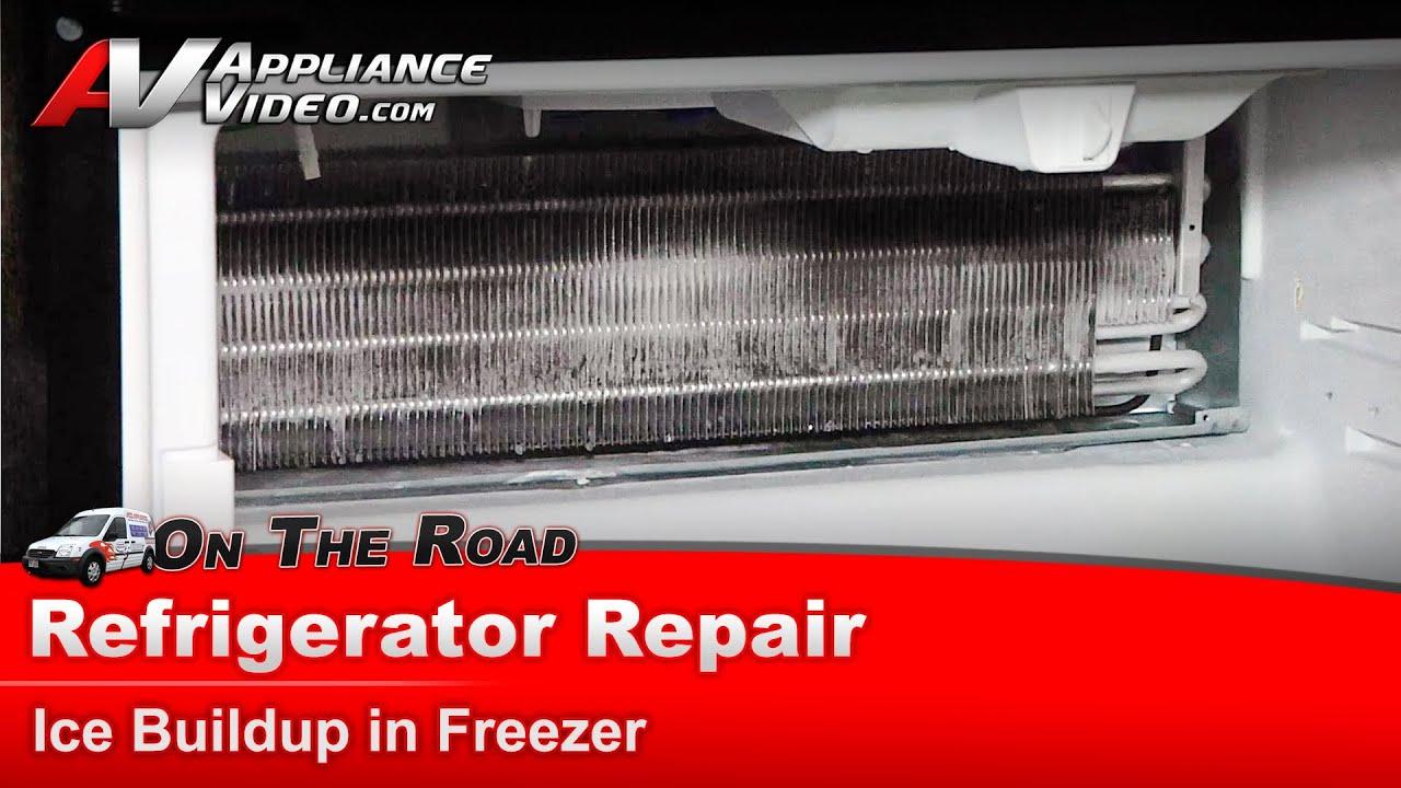 Refrigerator Repairdiagnostic Ice In Freezermaytagwhirlpool Defrost Timer Wiring Diagram Cold Room Freezermaytagwhirlpoolkenmorekitchenaid Mf12665xeb0