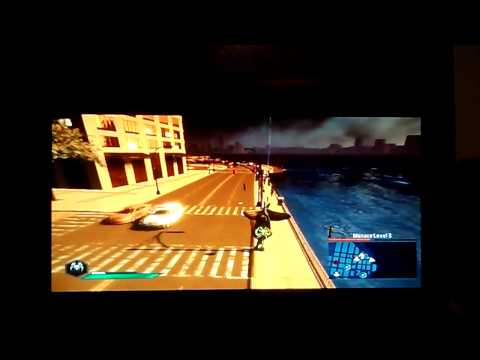 The Amazing Spider-Man 2 ps3 How to hang upside Do