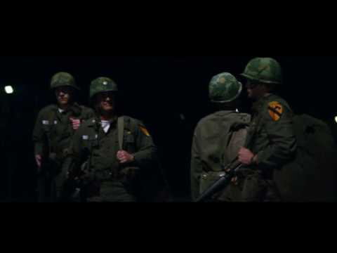 We were soldiers - saying goodbye