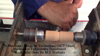 Wood Lathe Done By Me Student ( Actoman) Part1