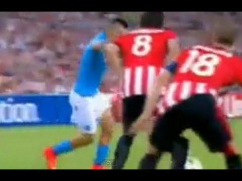 Athletic Bilbao 3 Vs 1 Napoli - Partido en Vivo 1° Tiempo - Copa de Campeones - Relatos