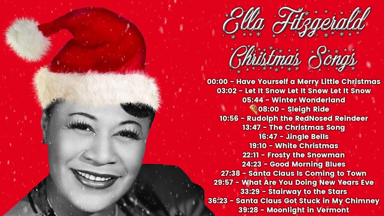 Ella Fitzgerald - Christmas Songs (FULL ALBUM)