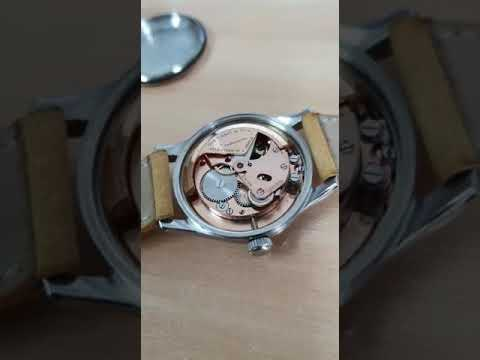 Vintage  Tissot Military Watch From 1947 Bumper Movement Up For Sale