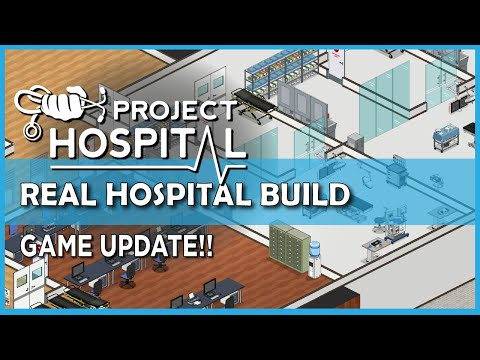Operating rooms and more! | Real hospital planning in Project Hospital |