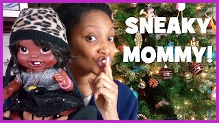 What Sneaky DIY Moms Do for Christmas Gifts | New Baby Alive & American Girl Doll Clothes | Ep.25