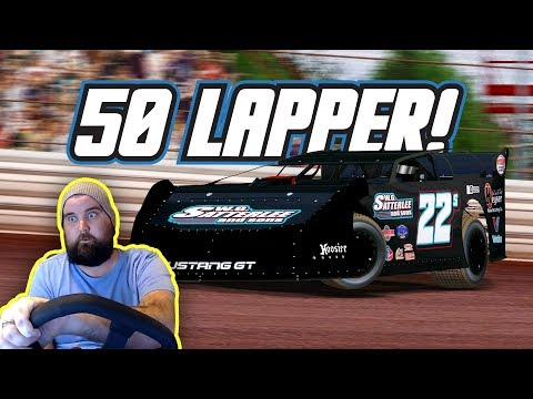 rFactor: 50 Lapper! (Late Models @ Tyler County)