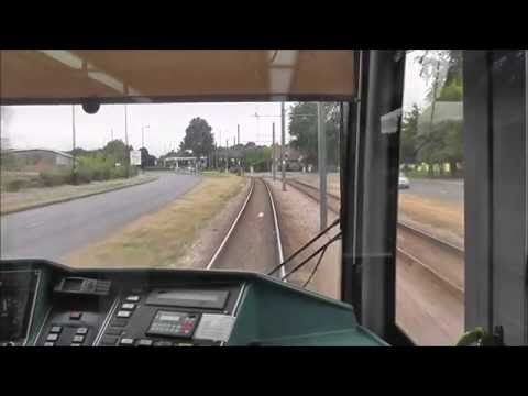 London Tramlink Cab Ride - New Addington to Wimbledon