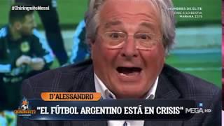 D´Alessandro 'ESTALLA' CONTRA el fútbol ARGENTINO: