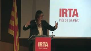 Aniversari IRTA: discurs consellera Meritxell Serret