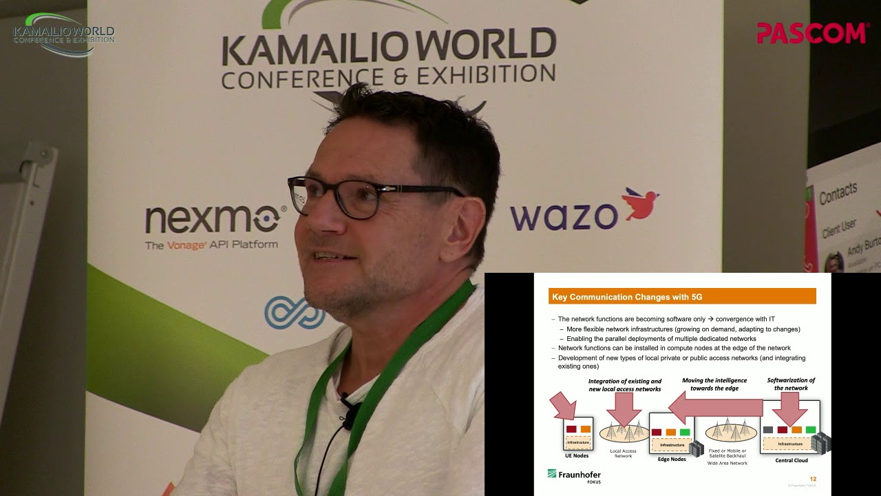Kamailio World 2019: The Importance Of Local Private 5G Networks For  Innovations