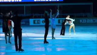 Queen Yuna Kim (Yu-na Kim) is on her way! @ Golden Spin of Zagreb, 20131207
