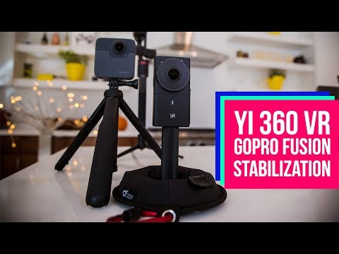 Yi 360 VR NEW stabilization feature VS GoPro Fusion - Which one is better?
