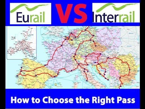interrail or eurail choosing a rail pass for traveling europe youtube