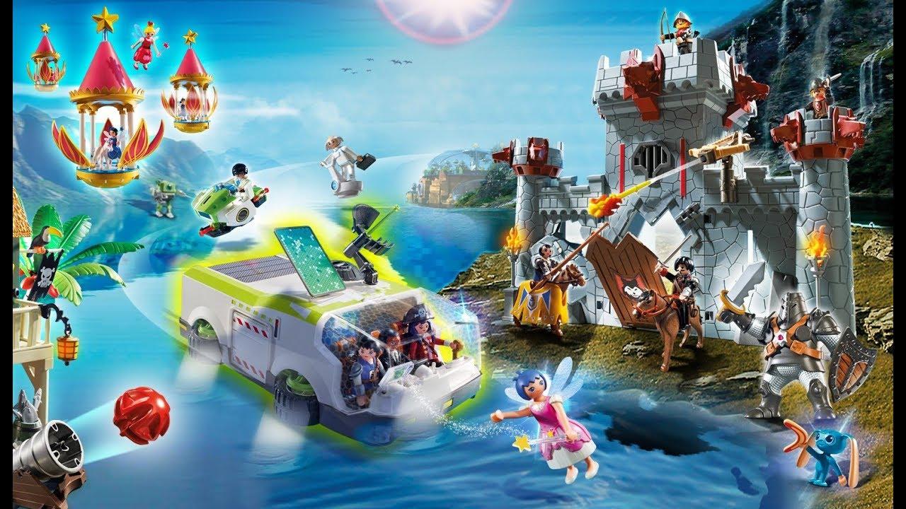 Парк развлечения для детей Плеймобиль. Семейный отдых в Германии.