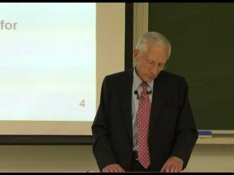 The Global Financial Crisis - Prof. Stanley Fischer