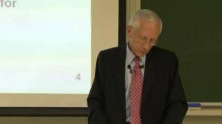 The Global Financial Crisis - Prof. Stanley Fischer