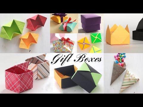 Top 10 Gift Box | Paper Boxes | DIY Activities