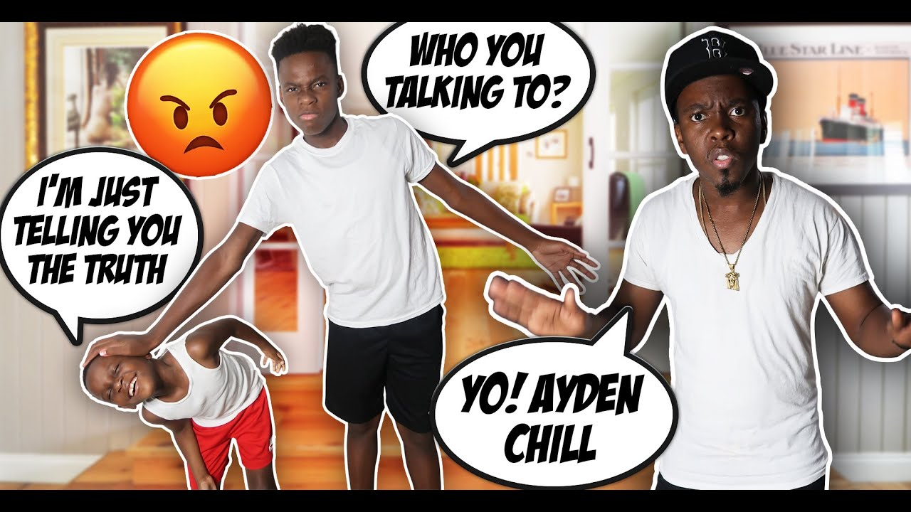I CAN'T BELIEVE AYDEN SAID THIS TO AHZEE ( HE WAS SO MEAN )