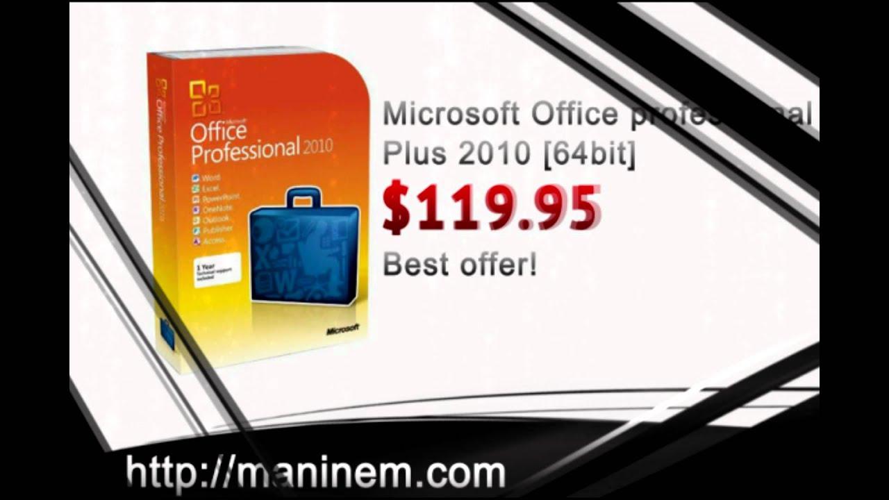 Buy Microsoft Office 2010 Cheap
