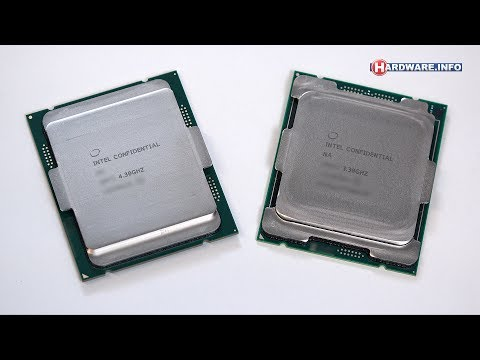 Intel Core i9 7900X and i7 7740X review - Hardware.Info TV (4K UHD)