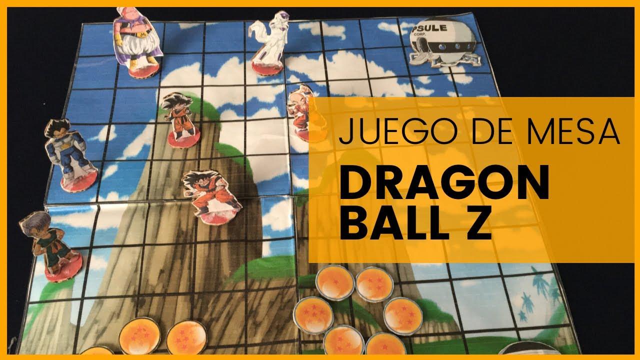 Como Hacer Un Juego De Mesa De Dragon Ball Super Youtube