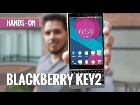 BlackBerry KEY2 Hands-on Review