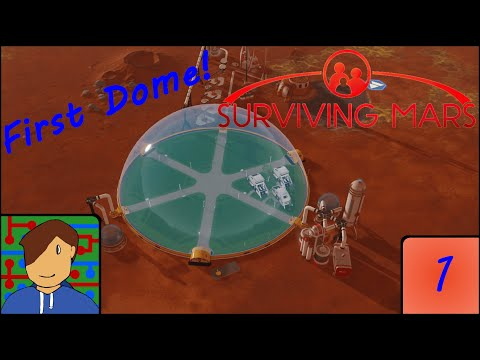 First Contact! | Surviving Mars | Episode 1 |