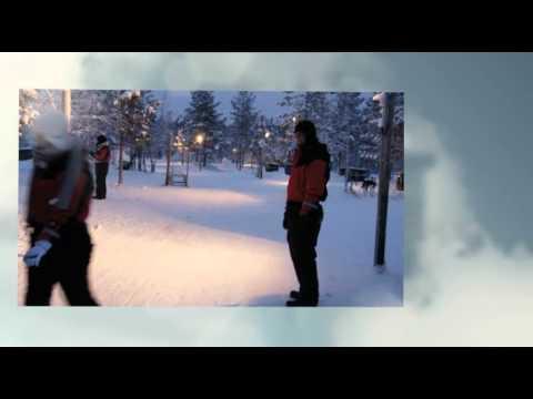 Lapland Finland new year 2011 in Hetta