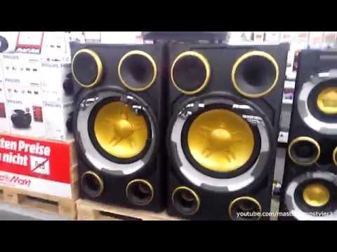 Philips NTRX900 Soundtest (20 inch SUBWOOFERS at max. volume)